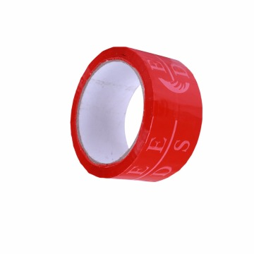 Branded Unique Adhesive Sticky Tape Long Red Printing
