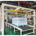 Automatic large size pallet wrapping machine