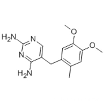 2,4-Diamino-5-(6-methylveratryl)pyrimidine CAS 6981-18-6