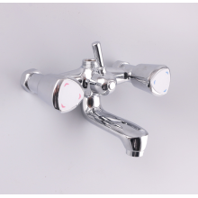 Plastic durable shower faucet hot and cold water mixer Taps for bathroom bathtub