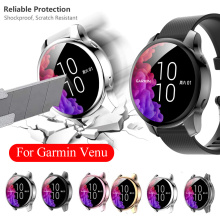 1Pc TPU Watch Case Full Cover Screen Protector for Garmin Venu Smart Watch Bands Accessories Shockproof Protective Shell