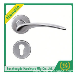 SZD SLH-001SS Stainless Steel Simple Modern Solid Lever Crooked Handle