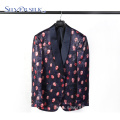 European Style Wholesale Floral Tuxedo Mens Suits Custom