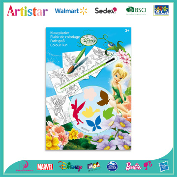 DISNEY FAIRIES colouring set
