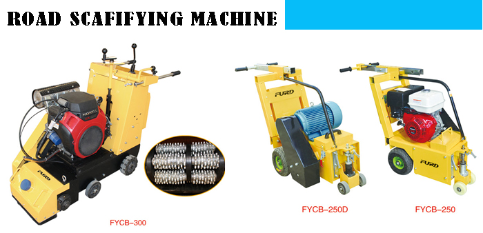 Road Scarifying Machine