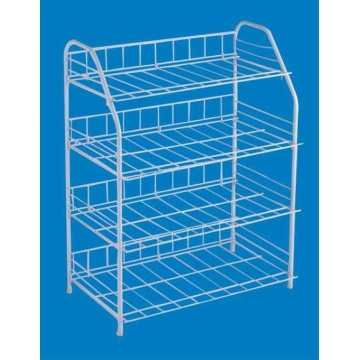 4 Tier PE Coated Shoe Rack