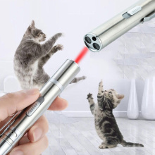 3 in 1 red laser pointer flashlight Mini Lazer USB rechargeable pen Powerpoint multi-function lasers