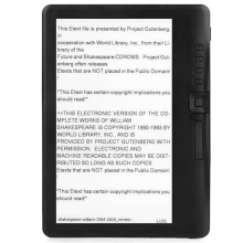 4GB Ebook Reader Smart with 7 Inch HD Sn Digital E-Book+Video+MP3 Music Player Color Sn ELECTSHONG