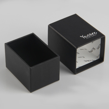 Paper Sleeve Soap Packaging Black Drawer Box