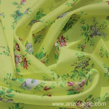 Spring printing 100 % cotton voile shirting fabric