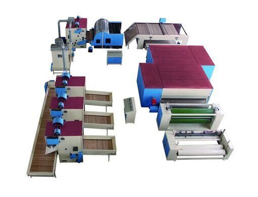 PET needle punching production lines