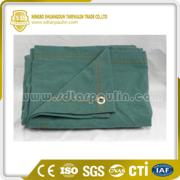 Earth-friendly 100% Cotton Canvas Tarps Treated Tarp