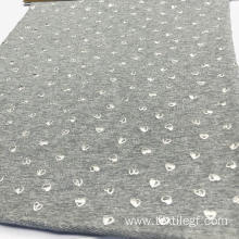 Terry Foil Print Fabric