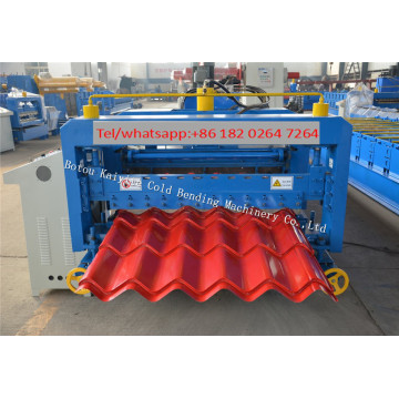 CNC Roofing Panel Roll Forming Machine For Dominica