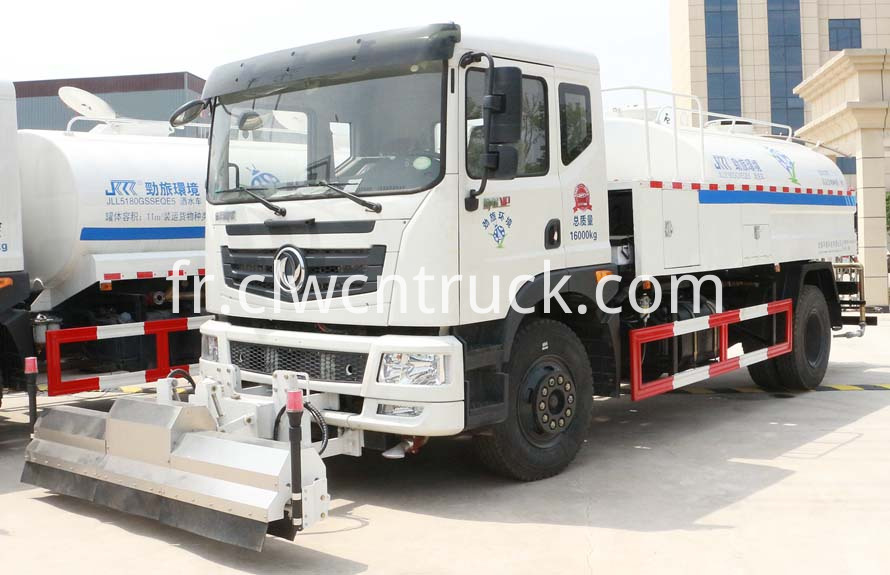high pressure water jetting truck