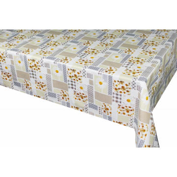 Elegant Tablecloth with Non woven backing Pile