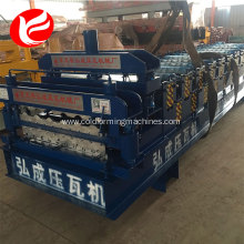 Double layer zinc roofing sheets  forming machine