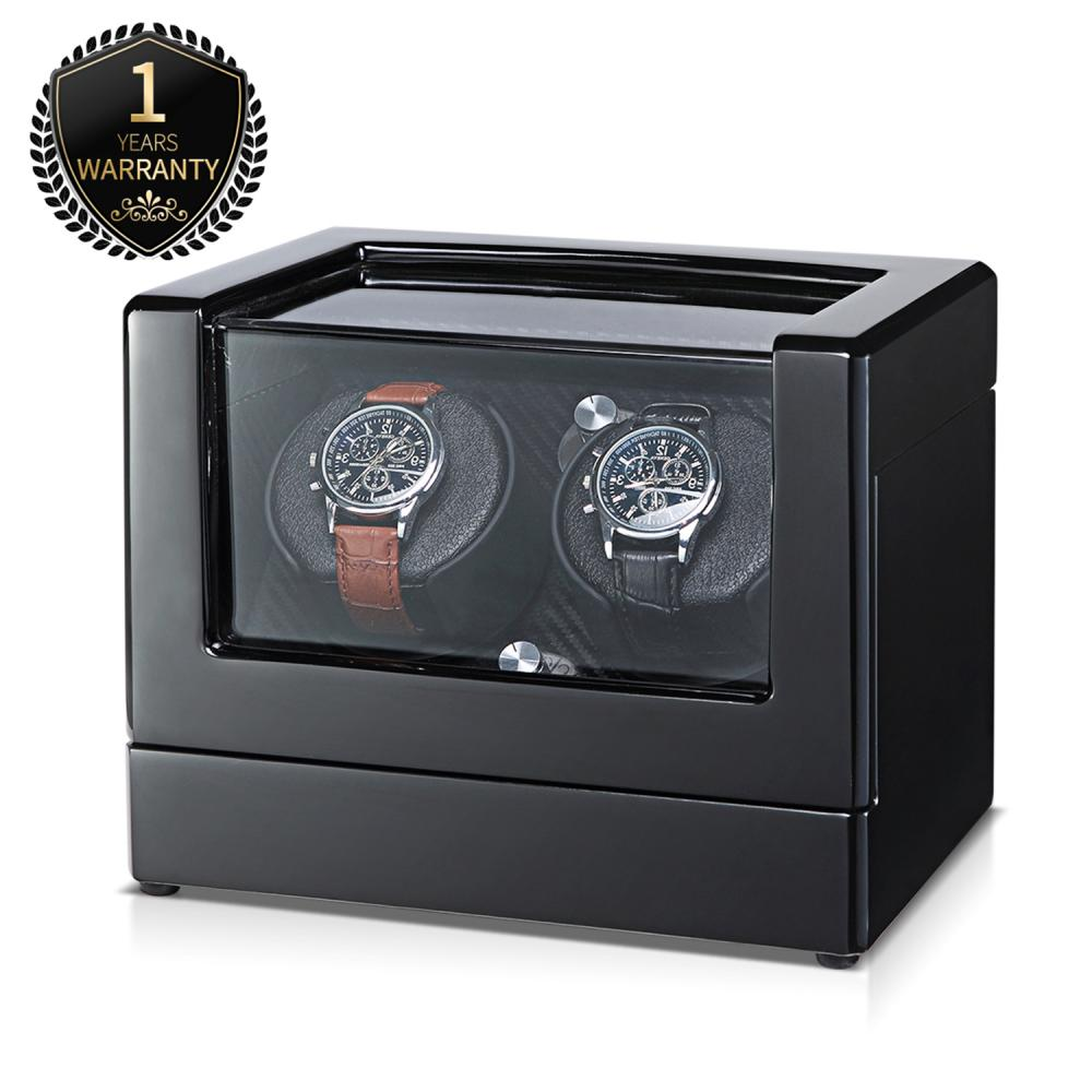 Black Wood Watch Winder Box