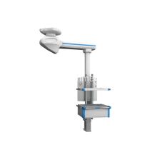 Multifunction electric single arm medical pendant
