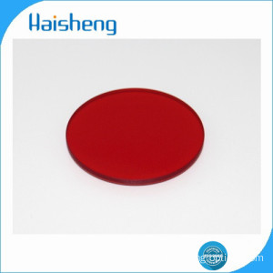 HB600 red optical glass filters