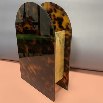 Resin Table Vase Tortoiseshell