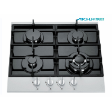 4 Burners Tempered Glass Household Cooktop