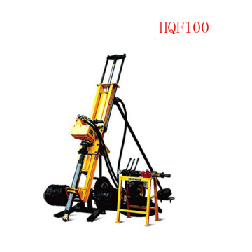 Hongwuhuan HQF100 mobile all pneumatic DTH rig