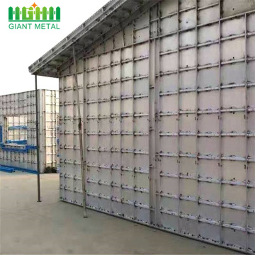 used construction aluminum columns formwork
