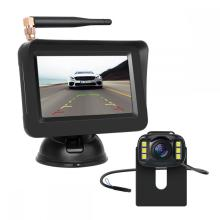 Wireless Car Camera nga adunay 4.3inch Car Monitor