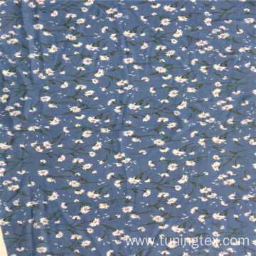 100% Polyester Print Fabric For Woman's Skirt