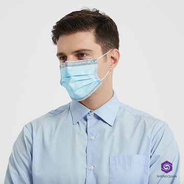 Non Woven Earloop Graphene Face Mask