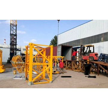 QTZ80-6012-6T tower crane reliable operation