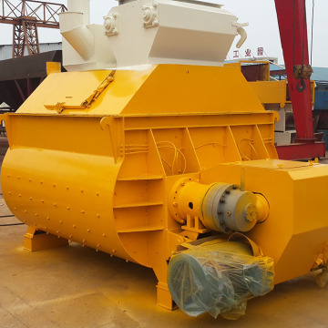 JS1500 concrete mixer machine twin shaft