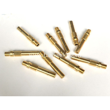 Panasonic welding torch contact tip holder brass