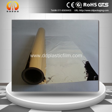 Gold  metallized polyester film for thermal lamination