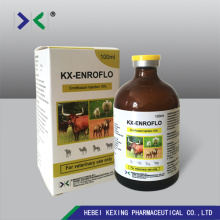 Animal Use Enrofloxacin Injection 10%