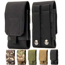 Universal Phone Pouch Holster Waist Bag Army Tactical Military nylon belt For Samsung iphone Huawei Xiaomi Nokia Sony LG Case