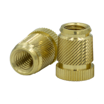 Knurled insert nut with m3 m5 m6 thread
