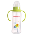 9oz PP Infant Milk Nursing Bottle With Handle