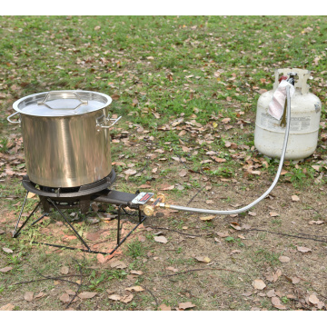 80000 BTU Camping Propane Burner Stove with Stand