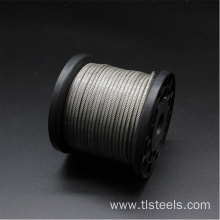 Factory Price 2.5mm Stainless Steel Wire Rope 7*7