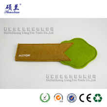 Top quality customized design felt pencil bag