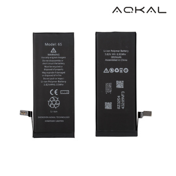iPhone 6S Li-ion Batterij ferfange mei TI IC