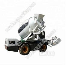 1.8 CBM used concrete mixer truck with pump