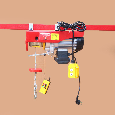 Double Hooks 6/12m/min electric lifting hoist