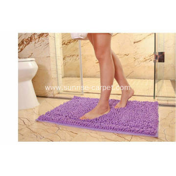 Chenille Carpet Bath Mat