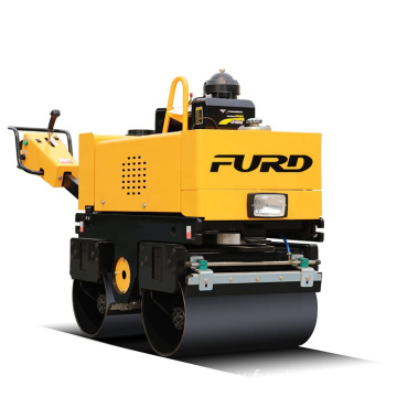 Vibration frequency double drum soil compactor road roller FYL-800C