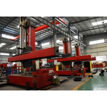 Welding Column and Boom for Double-Wall Oil Tank