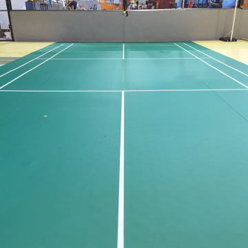 badminton pvc sports flooring