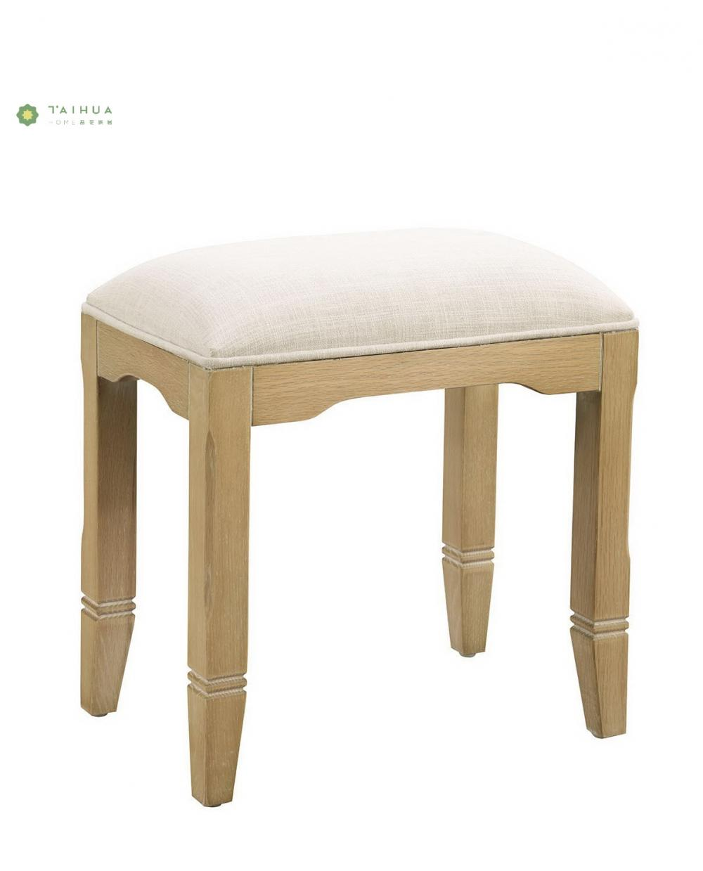 Fabric Cushion Dresser Stool